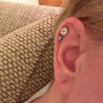 daisy earring